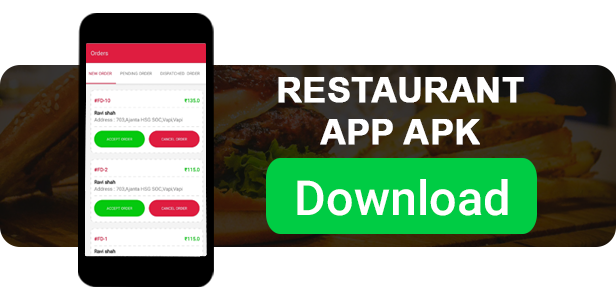Food Daily - An On Demand Android Food Delivery App, Delivery Boy App and Restaurant App - 7